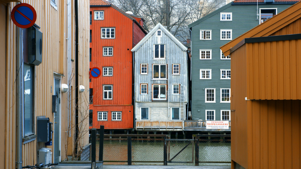 European Identity - Made in Europe. Trondheim. TYIN tegnestue architects