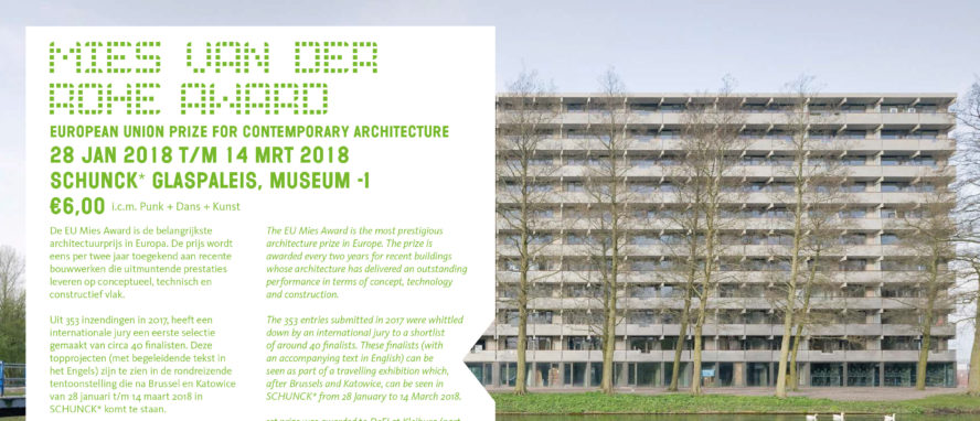 Exhibition Of The European Union Prize For Contemporary Architecture